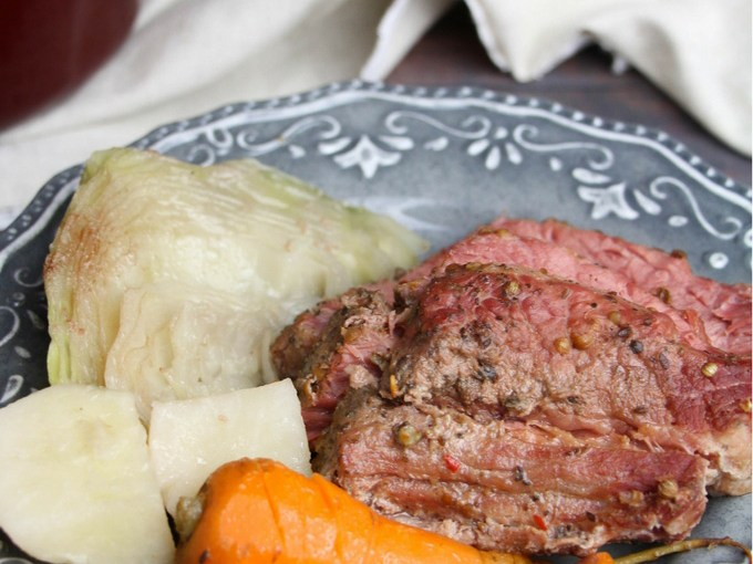 Corned Beef and Cabbage Recipe By Amanda's Cooking