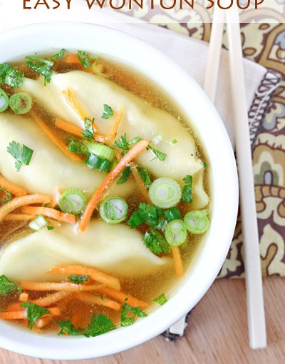 Easy Wonton Soup By Let's Dish Recipes