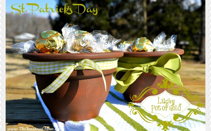 "Making a St. Patrick's Day ""Lucky Pot of Gold"""