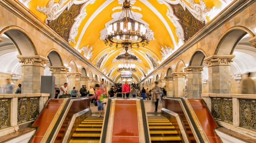 The Moscow Subway / Video :The Russian Subway In Moscow By Danny Holt – Staring Jeny Smith