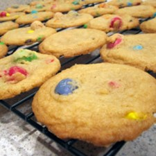 Baking Misadventures: M&M Butter Cookies