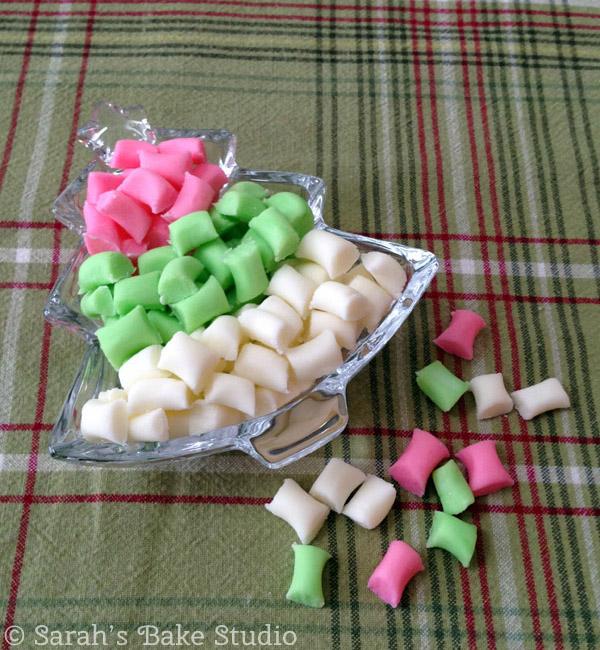 Butter Mint Pillows