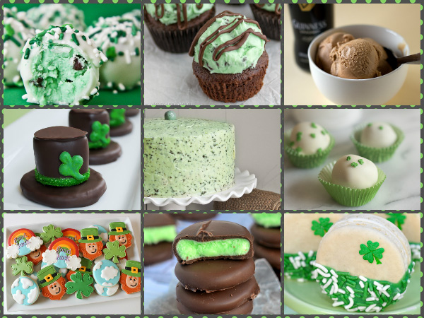9 St. Patrick's Day Sweet Treats