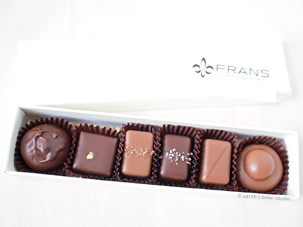 Sarah's Bake Studio: Sarah Does Seattle - Fran's Chocolates