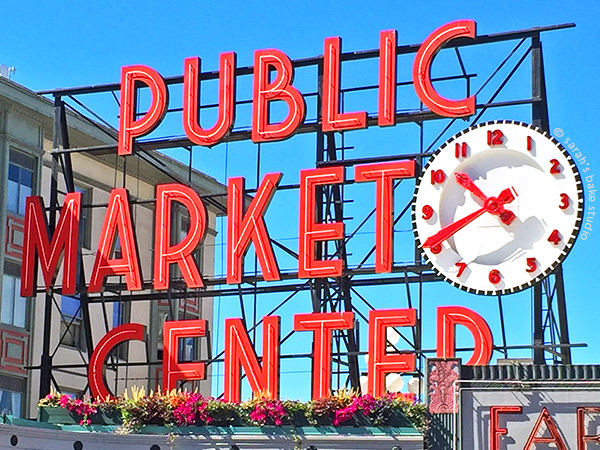 Sarah's Bake Studio: Sarah Does Seattle - Pike Place Market