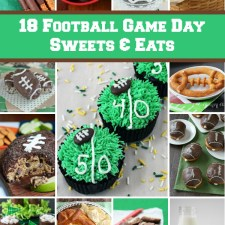 18 Football Game Day Sweets and Eats