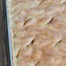 Slab Apple Pie from Clarks Condensed