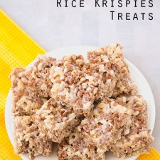 Marble Rice Krispies Treats