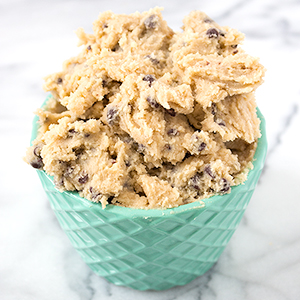 Chocolate Chip Cookie Dough Dip Sarahs Bake Studio