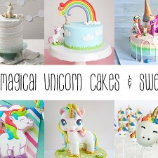 12 Magical Unicorn Cakes and Sweets