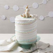 Whimsical Unicorn Cake from Wilton