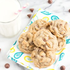 Milk Chocolate Chip Walnut Cookies