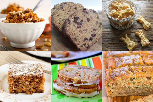 The Great Big List of Carrot Dessert Recipes is a sweet collection of 80+ carrot desserts from your favorite food bloggers on the web that will tickle your taste buds and make you LOVE carrots.