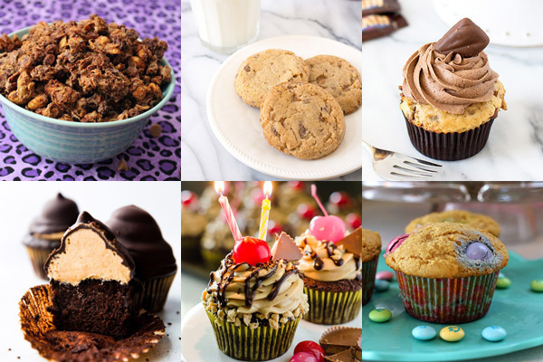 The Great Big List of Peanut Butter Desserts – 150+ peanut butter desserts from around the web that will have you drooling; the ultimate collection of all things peanut butter desserts!