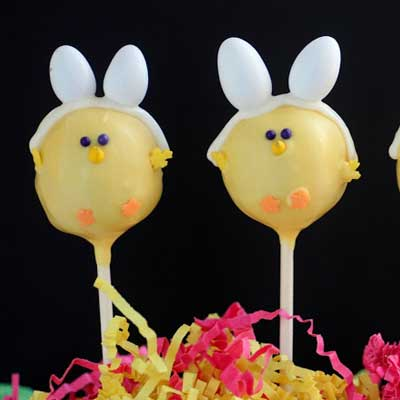 Easter Chick Bunnies from Pint Sized Baker