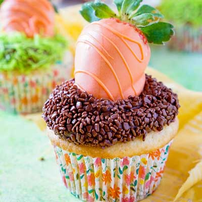 Easy Easter Cupcakes from Sugar & Soul