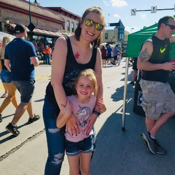 Life Is Sweet May 2019 - My Niece and I at Falls Memorial Fest.