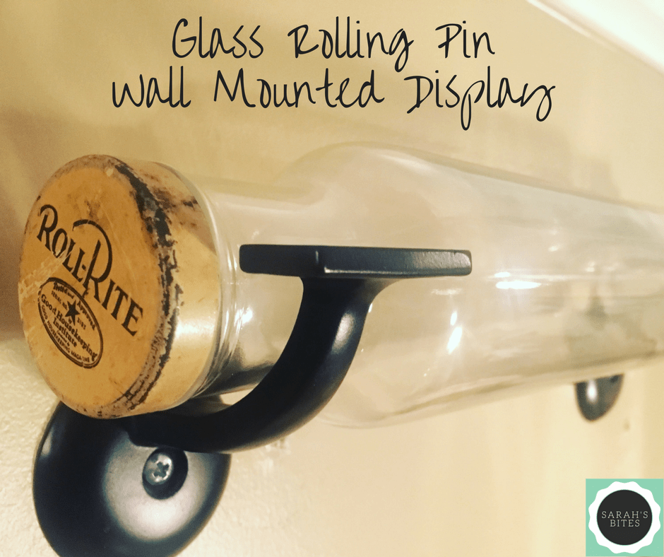 Hanging a Glass Rolling Pin
