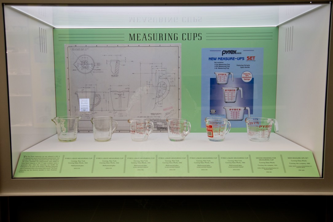 Corning history of measuring cups Photograph © Good Food Stories LLC