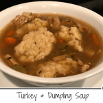 turkey & dumpling soup