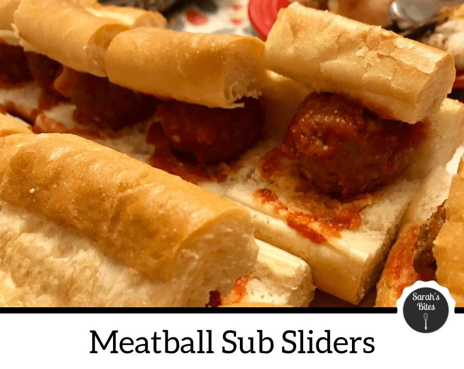 Meatball sub sliders