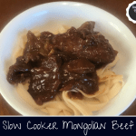 Mongolian beef over lo mein noodles