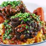 Beef short ribs with gremolata
