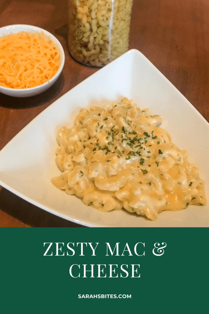 Zesty Mac & Cheese {Under 30 Minutes}