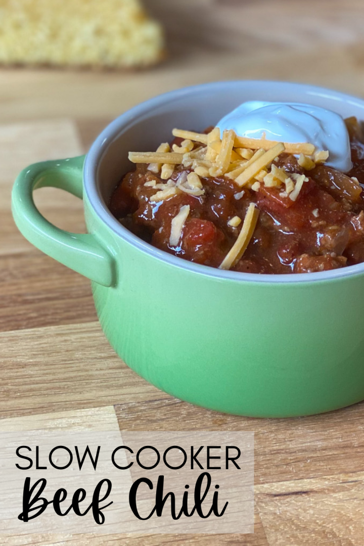 Slow Cooker Beef Chili