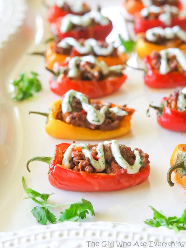 Mini Taco-Stuffed Peppers