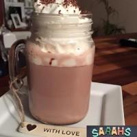 Cheeky Hot Chocolate drink