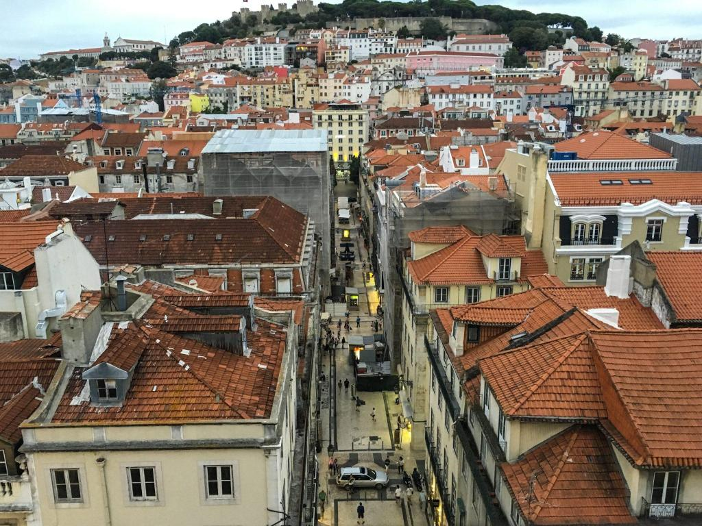 Santa Justa Lift view thoughts on Lisbon