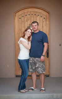 My sis and her hubby.