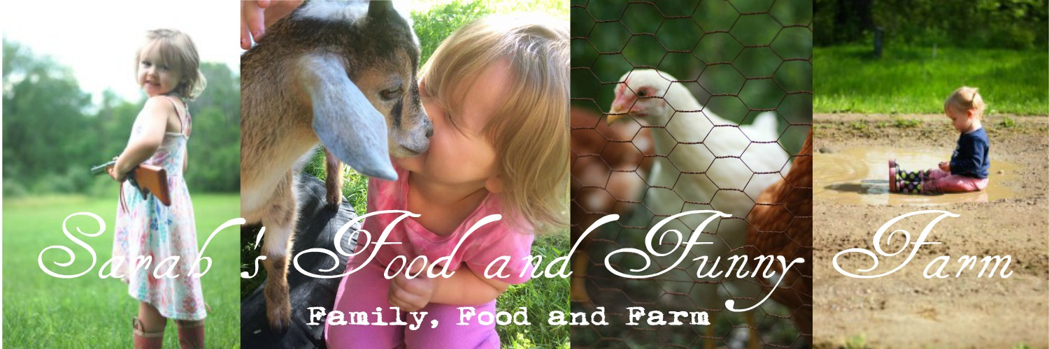Sarah's Food & Funny Farm