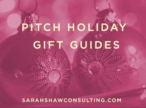 Pitch Holiday Gift Guides 2016