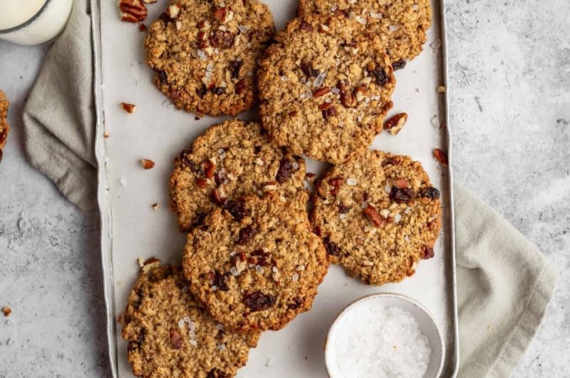 Brown butter & pecan cookies