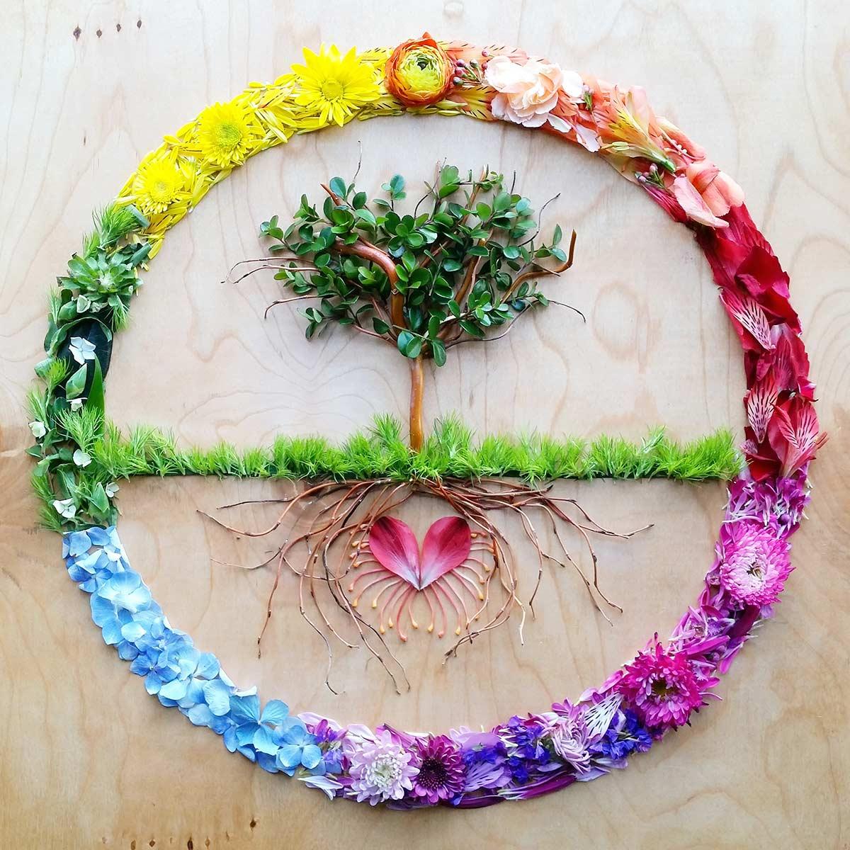 Greeting card set over the rainbow sarahsmilescreations tree of life kristyandbryce Gallery