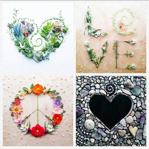 Peace-love-Card-set