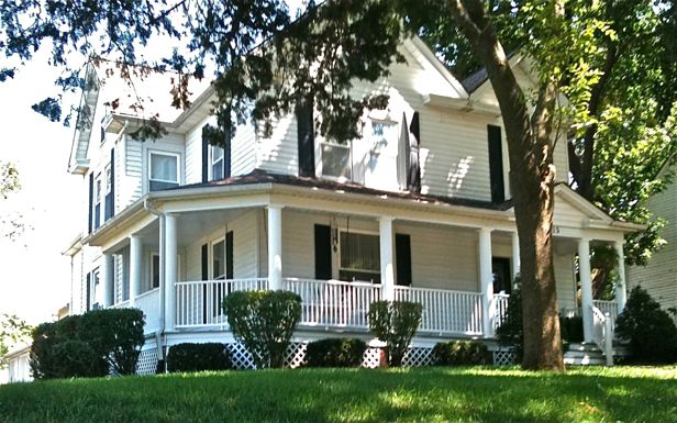 Wraparound Porches And Historic Neighborhoods At Home In