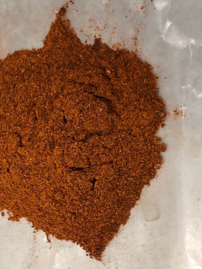 Fresh chili powder