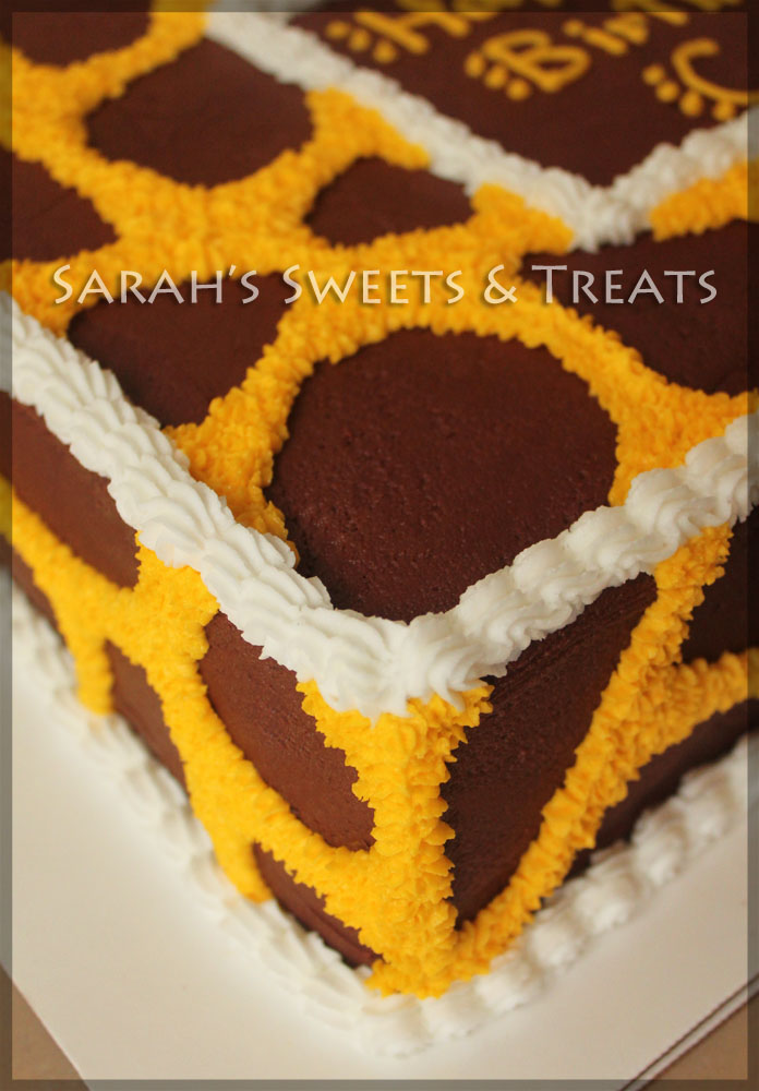 Giraffe Cake Sarah S Sweets Amp Treats