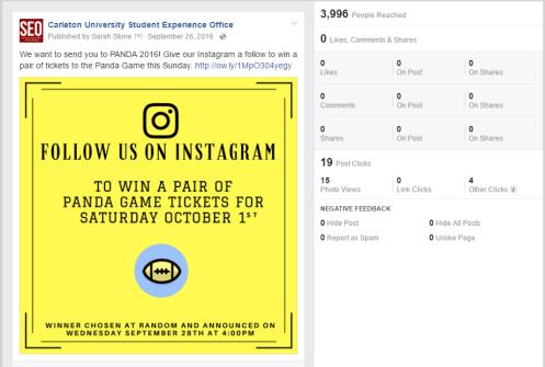 Instagram Follow Contest