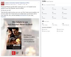 Movie Tickets Jack Reacher