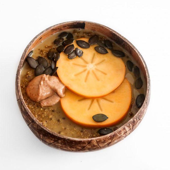 Orange Quinoa Porridge (Iron-Rich)