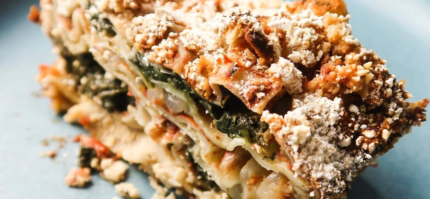 Vegan High-Protein Lasagna