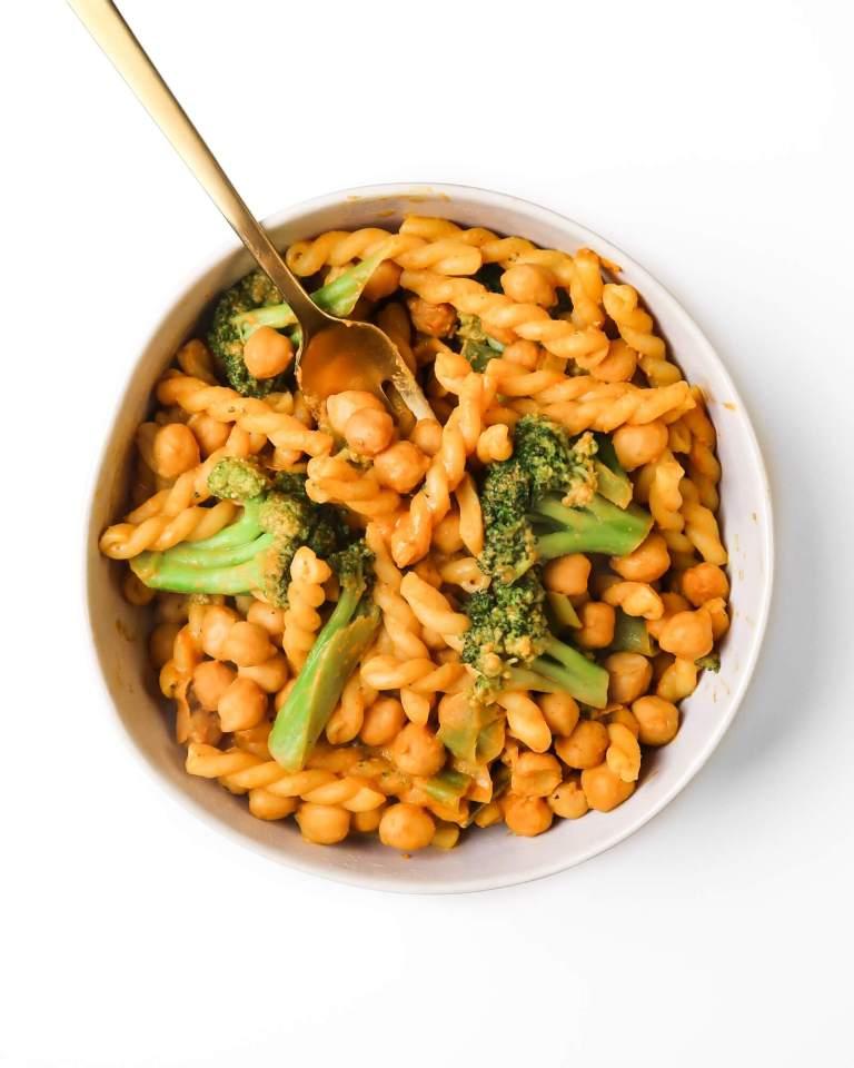 vegan-chickpea-pasta