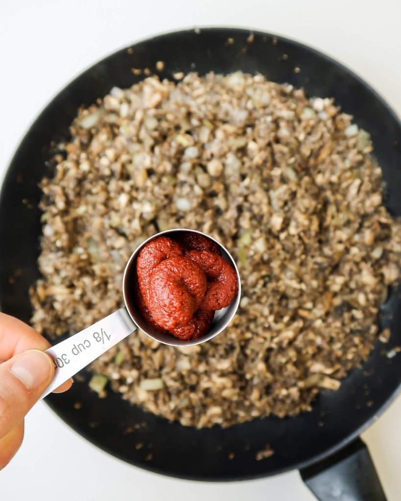 vegan mushroom bolognese how to
