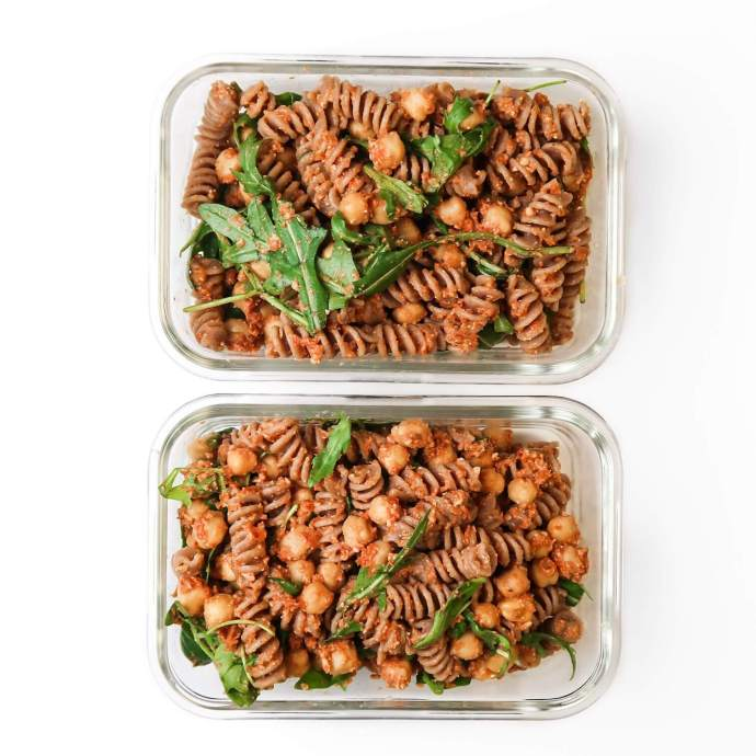 Sundried Tomato Pesto Pasta Salad