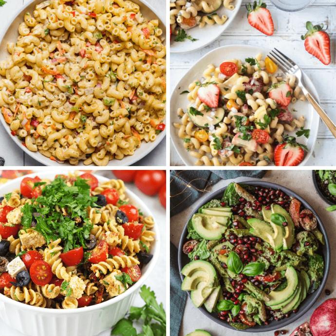 47 Vegan Pasta Salad Recipes for Work or School