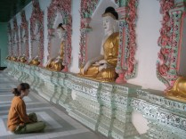 Sagaing Hills, near Mandalay, my favourite place.